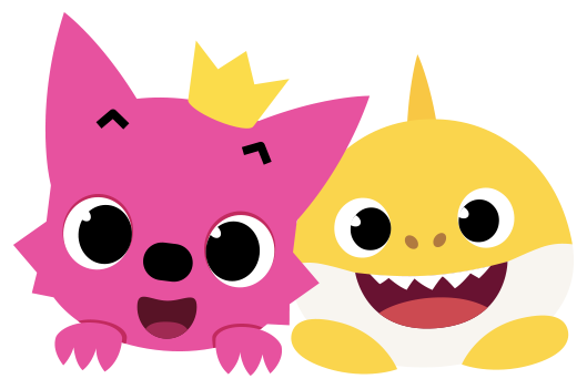 clip freeuse stock Pinkfong videos. Drawing sharks baby shark