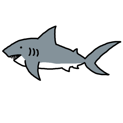 svg black and white library Nurse Shark Clipart at GetDrawings