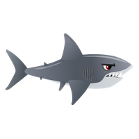 vector library stock Download shark free png. Sharks clipart