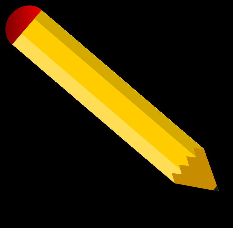 clip stock Pencil