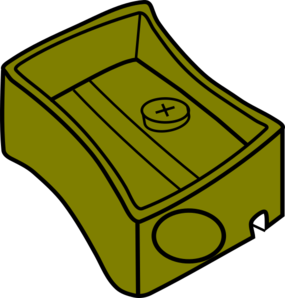 vector royalty free Olive clip art at. Sharpener clipart
