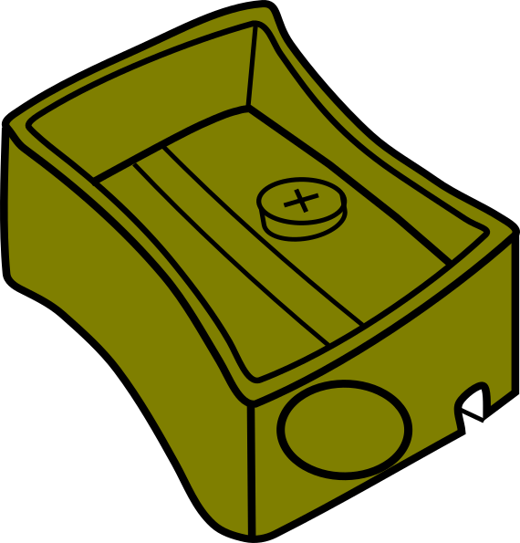 vector royalty free library Sharpener clipart. Olive clip art at.