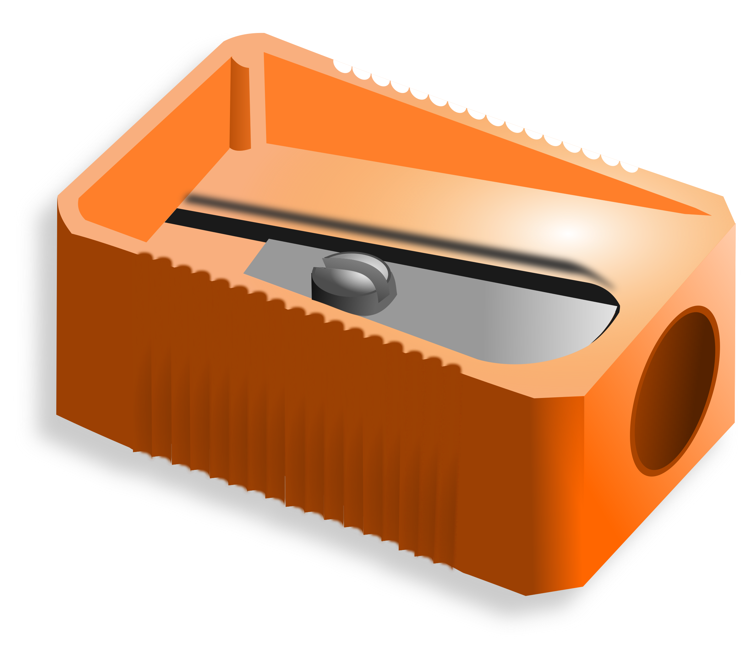 jpg royalty free download Sharpener clipart. Pencil big image png.