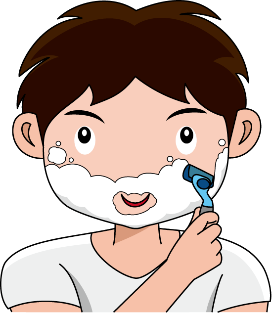 picture library Clipground shaving beard. Shave clipart.