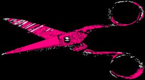 jpg transparent download Shears clipart. Pink clip art at.