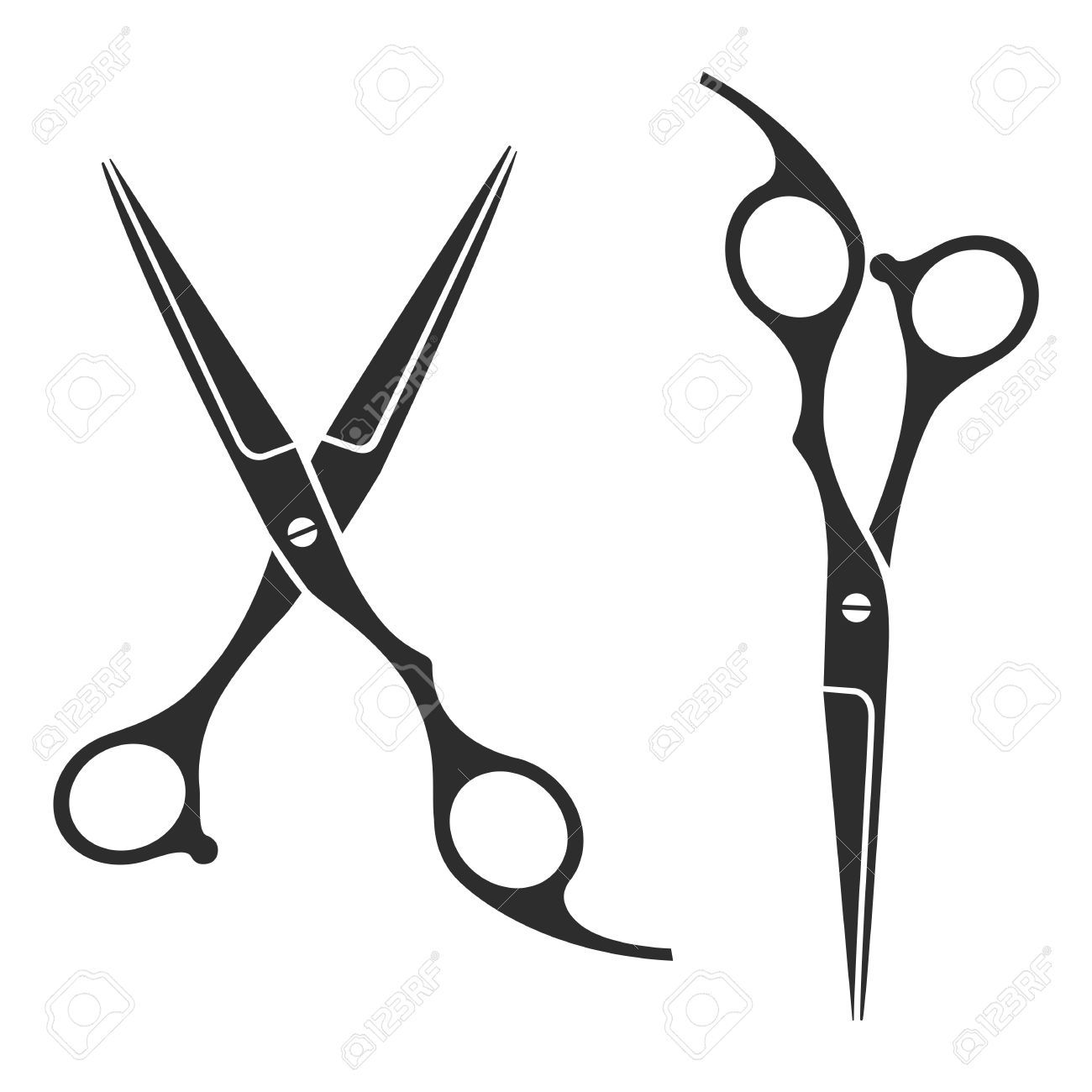 picture freeuse library Scissors Vector Logo