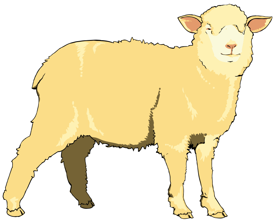 picture royalty free stock File svg wikimedia commons. Sheep clipart.