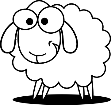 svg transparent stock Drawing images at getdrawings. Lamb face clipart