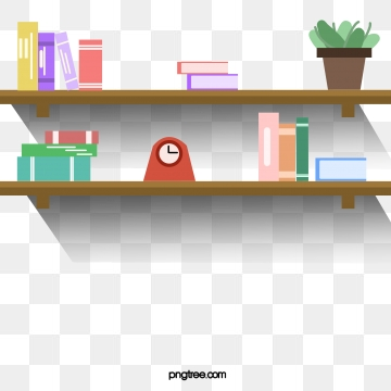 clip library download Bookshelf vector book rack. Shelf png psd and