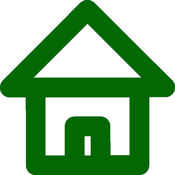 vector transparent Green house clip art. Shelter clipart.