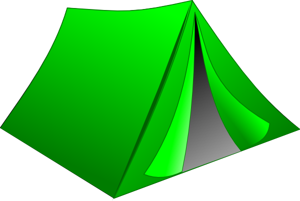 clip art free Free tent clipart. Green pitched clip art