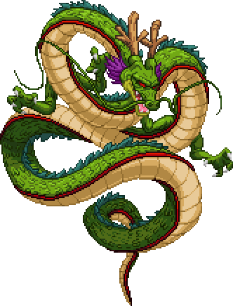 banner royalty free library Pixel Shenron