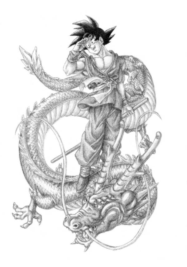 image download Goku and Shenron by Vidsamurai on DeviantArt
