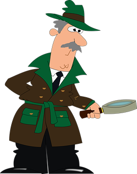 free download Mystery police free on. Sheriff clipart detective