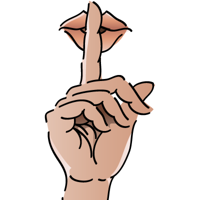 image freeuse stock Collection of free Hushing clipart finger
