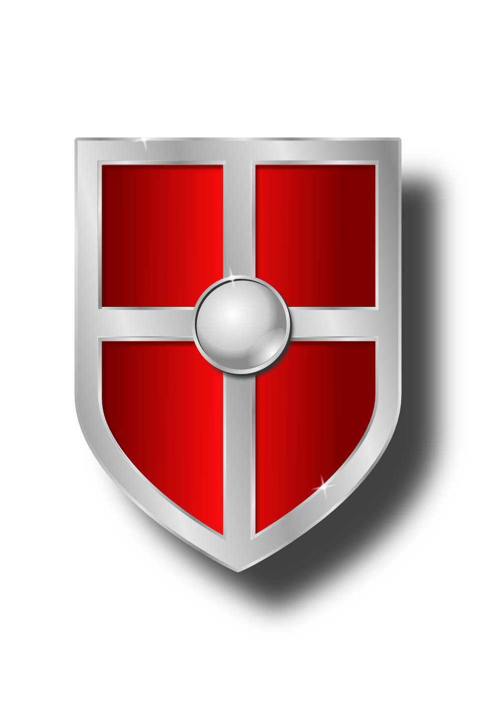 image Onlinelabels clip art weapon. Knight shield clipart