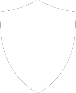 black and white library Pictures of a shield. Vector crest shape