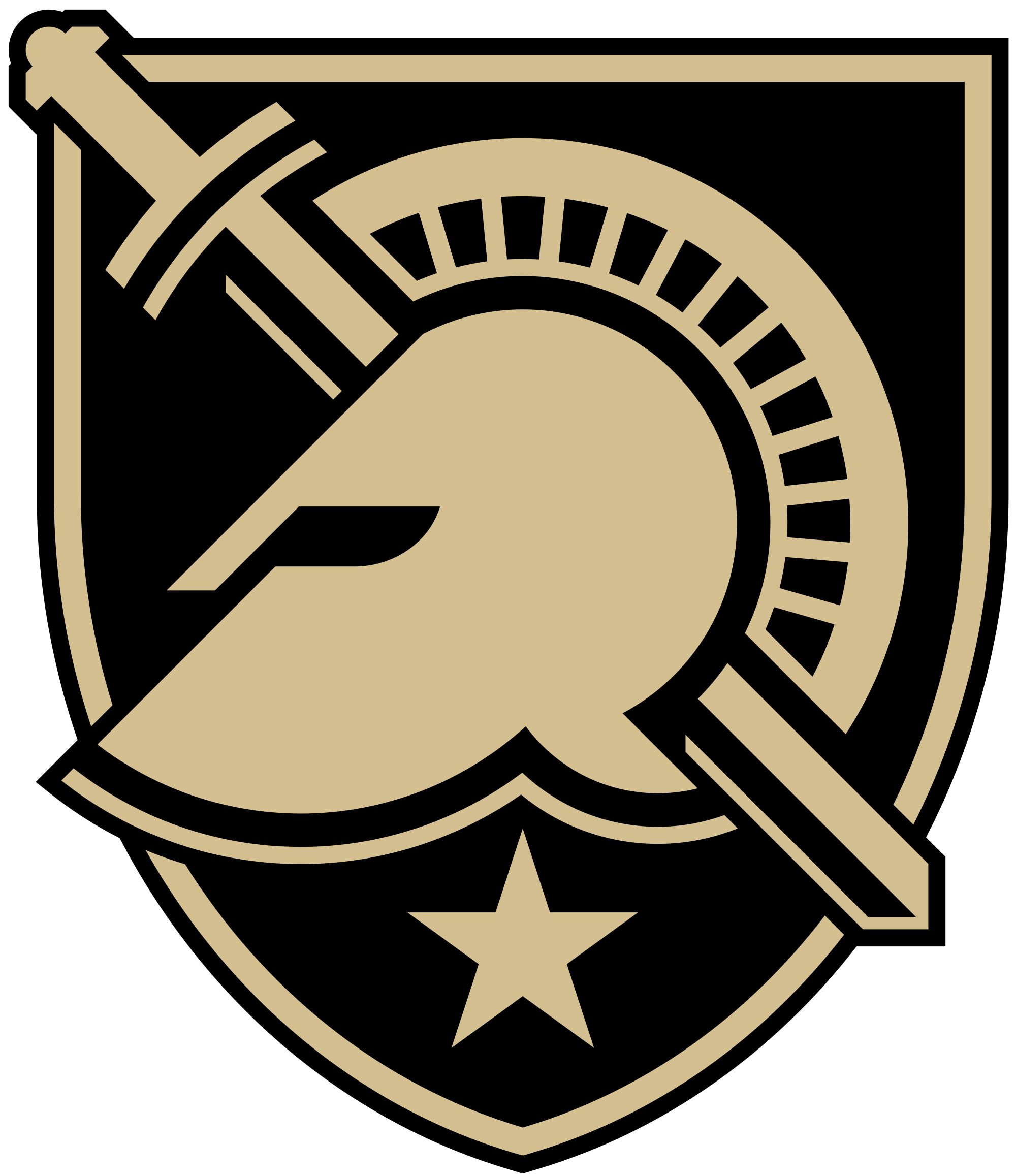 jpg stock File west point logo. Vector emblem army