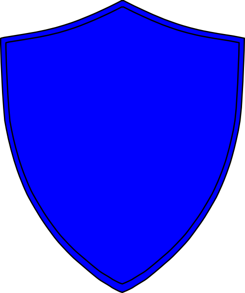 banner black and white stock Royal Blue Shield Clip Art at Clker