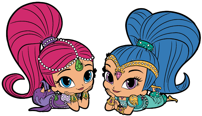 picture stock Shimmer and Shine Clipart