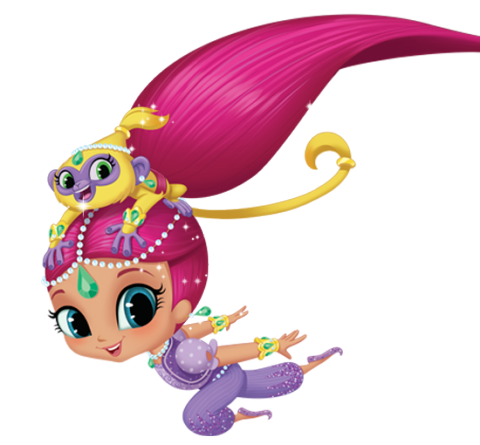 royalty free stock shimmer and shine clipart shimmy #48510205