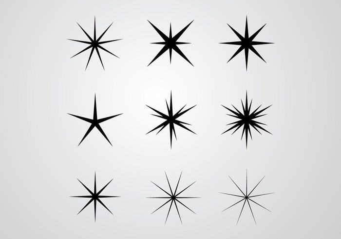 image library stock Shine vector. Stars and shines welovesolo