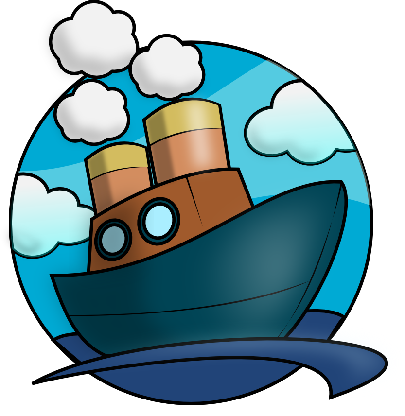 svg transparent library This steam ship clip. Yacht clipart 3 boat