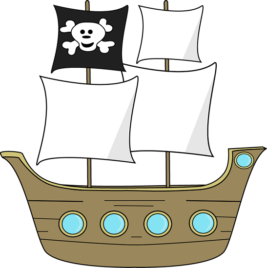 clipart library stock Ship clipart. Pirate clip art panda