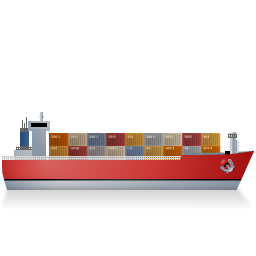 image transparent library Download ship vectors vectorpicker. Vector container shipping