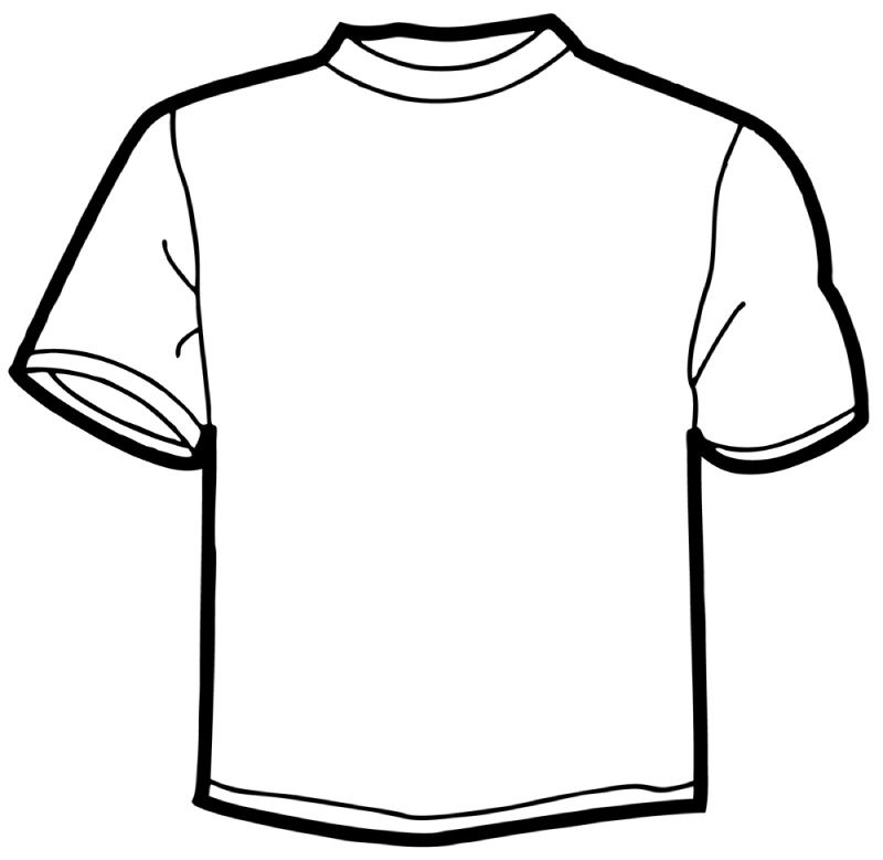 picture  online t template. Shirt clipart.