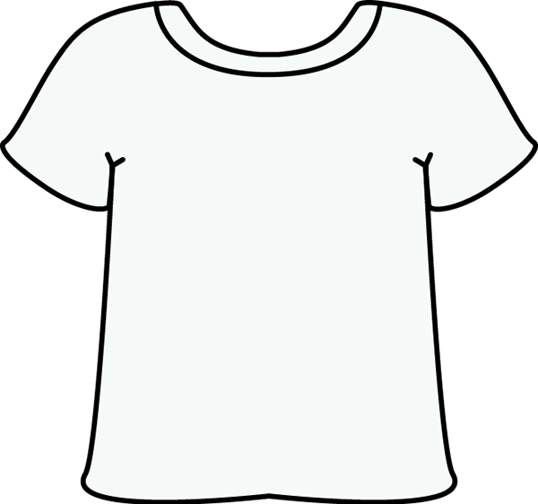 clip art royalty free download White Tshirt Clip Art