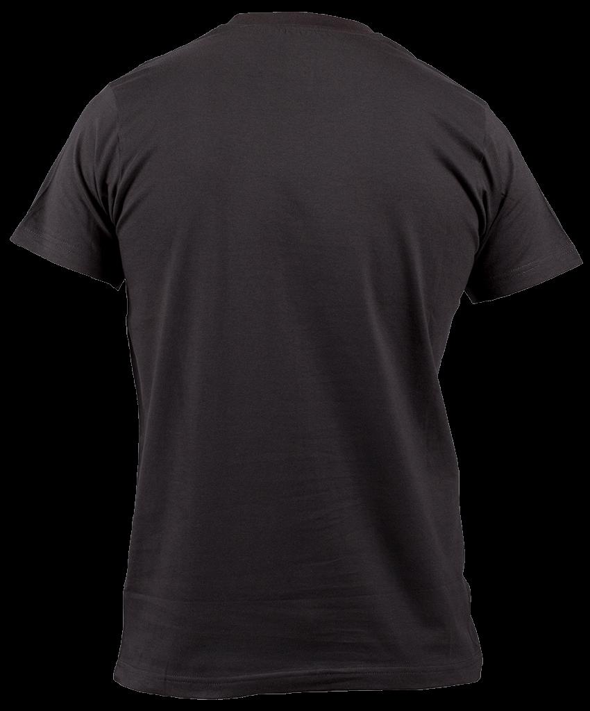 picture royalty free download Tshirt Black Back transparent PNG