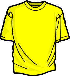 clipart freeuse library Yellow t shirt clip. Shirts clipart.