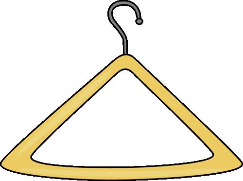 stock Shirt On Hanger Clipart