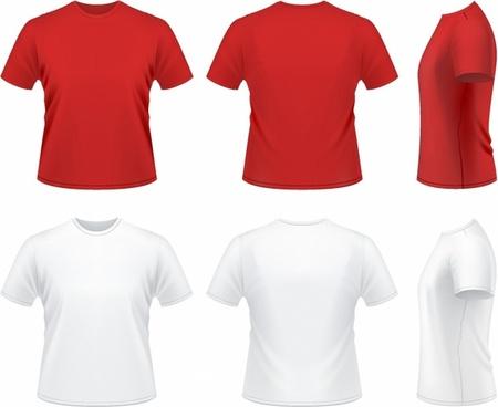 image library stock Shirts vector. T shirt free download