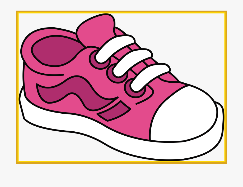 free library Pair of kid shoe. Kids shoes clipart