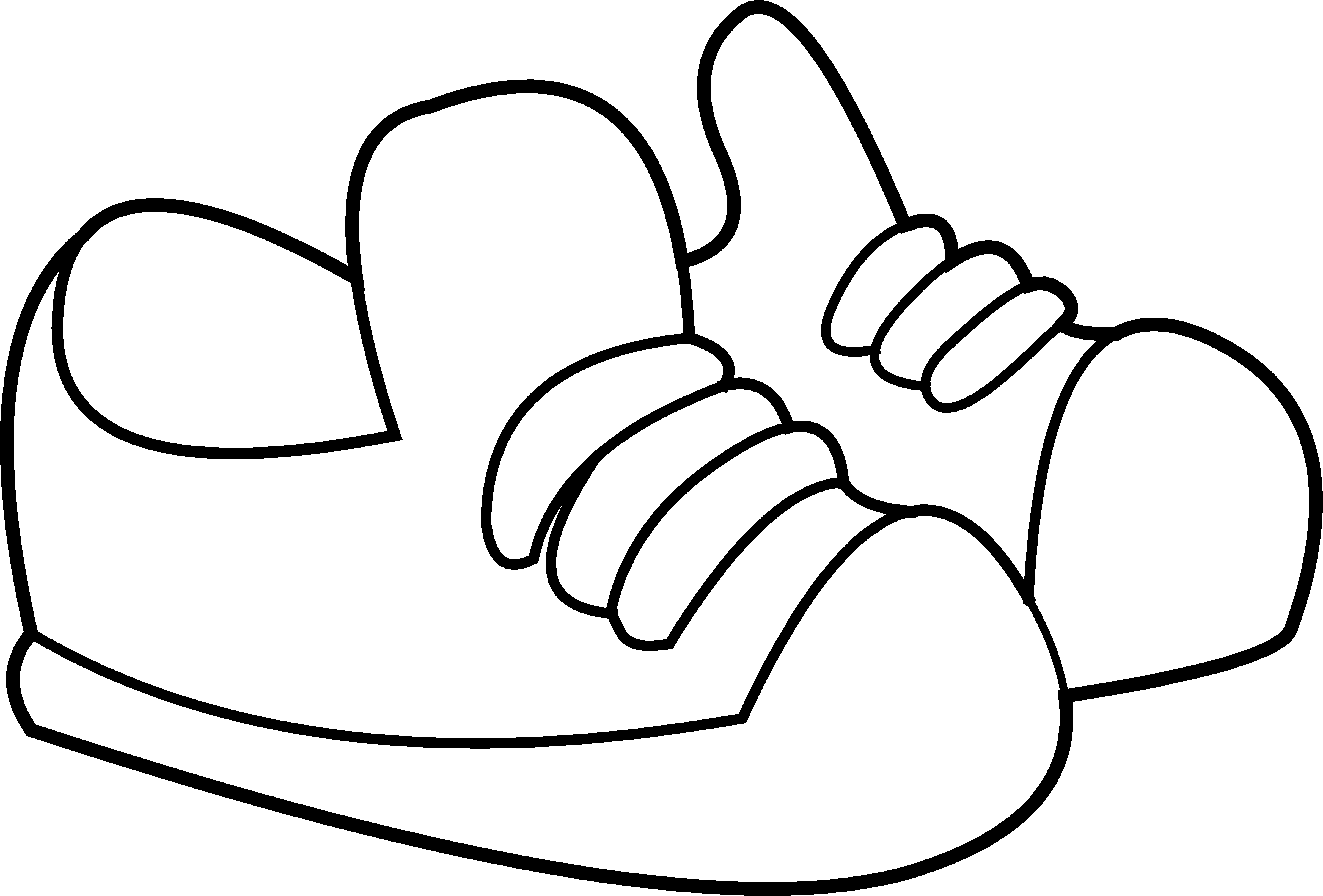 graphic library library Tennis shoes clipart black and white.  collection of shoe.