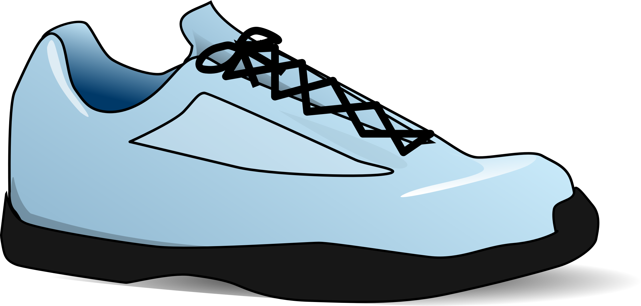 png free download Tennis shoes clipart.  collection of transparent