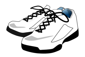 image transparent stock Free . Tennis shoe clipart