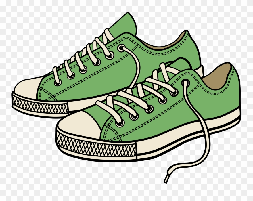 banner freeuse library Sneaker tennis shoes black. Sneakers clipart shoose
