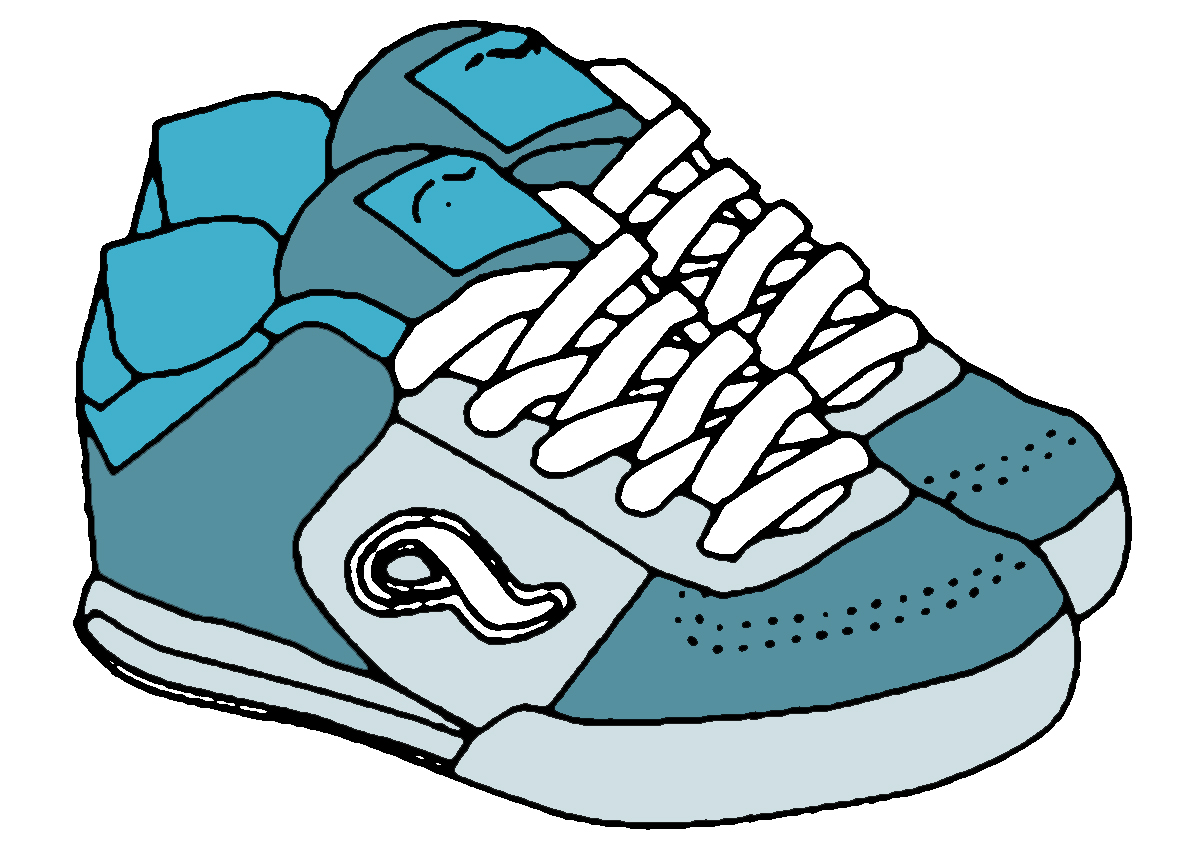 svg royalty free library Free cliparts download clip. Kids shoes clipart