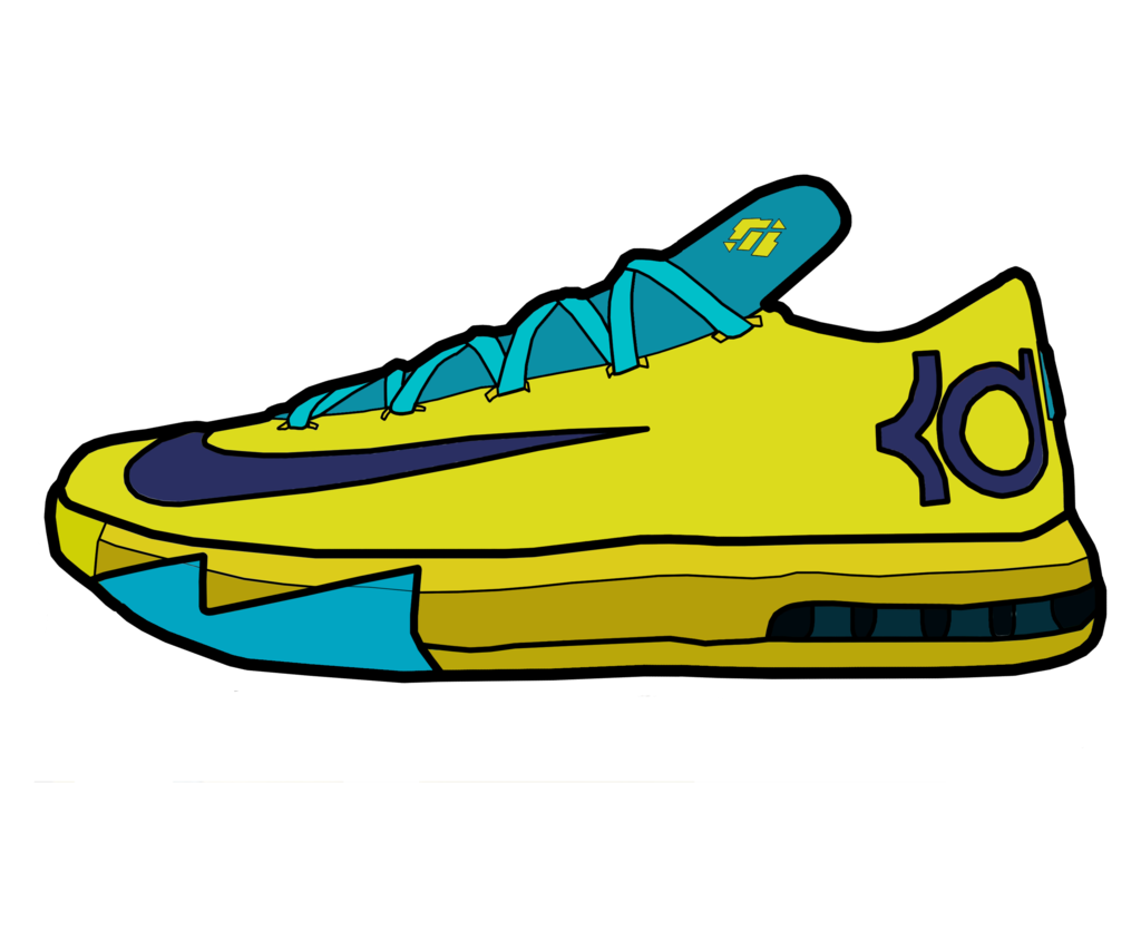 jpg freeuse library Nike Shoe Drawing at GetDrawings