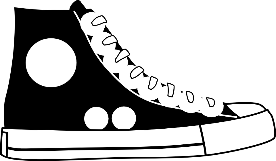 clip black and white stock Free Shoe Clipart classroom clipartclipart download wallpaper