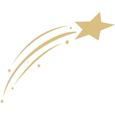 graphic transparent download Gold Shooting Star transparent PNG