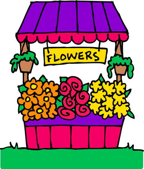 clip freeuse library free flower seller clipart