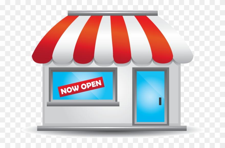 transparent Clip art local business. Shop clipart