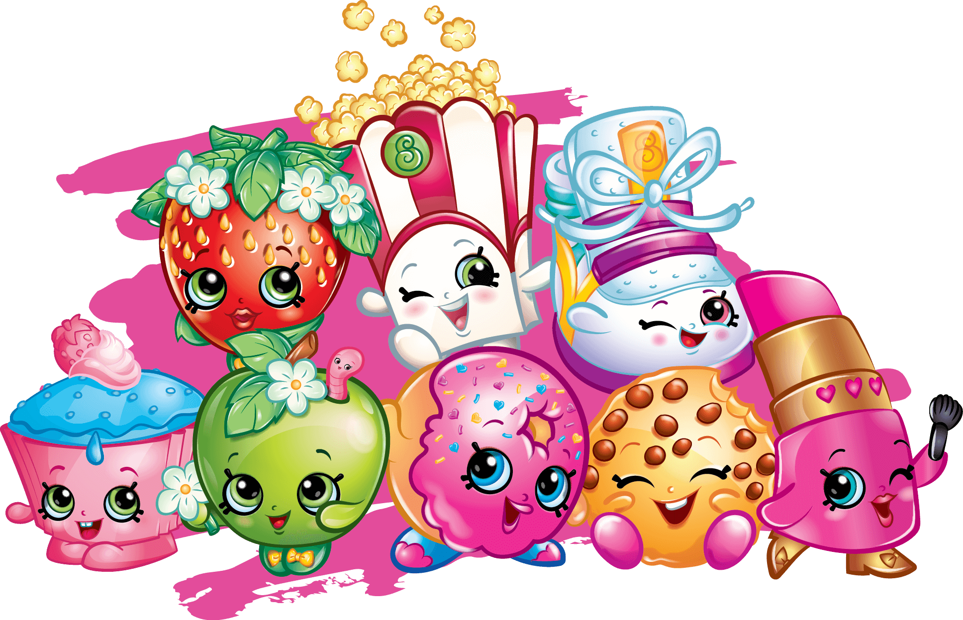 banner transparent  printable coloring pages. Drawing printables shopkins