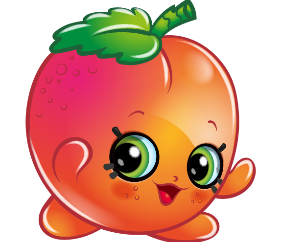 clipart royalty free stock April apricot art official. Shopkins clipart.