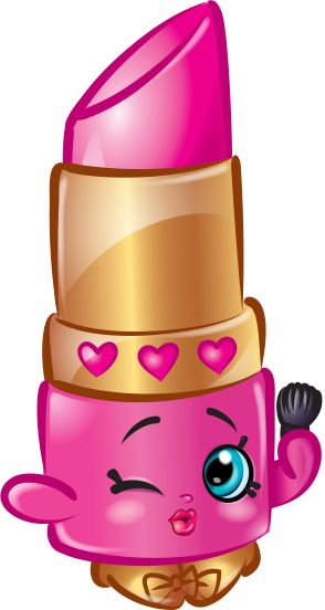 png royalty free download Shopkins lipstick clipart. Home wild animals in