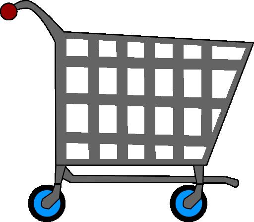 svg royalty free download Supermarket clipart checkout line. Basic shopping cart i.